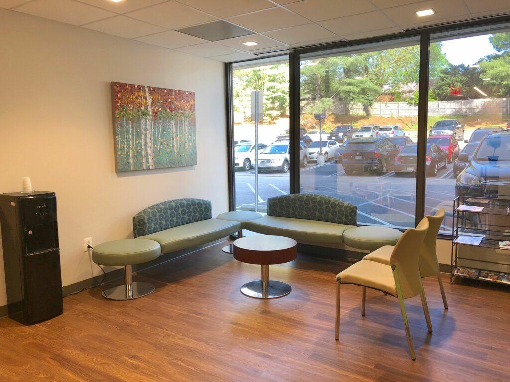 Spring Pediatrics Waiting Room